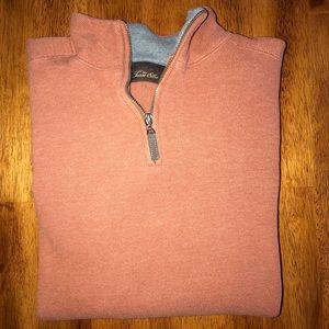 Tasso Elba Mens 1/4 Zip Sweater